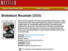Broke back on Netflix